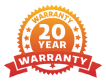 Solar Stack Footer Icons Warranty Logo